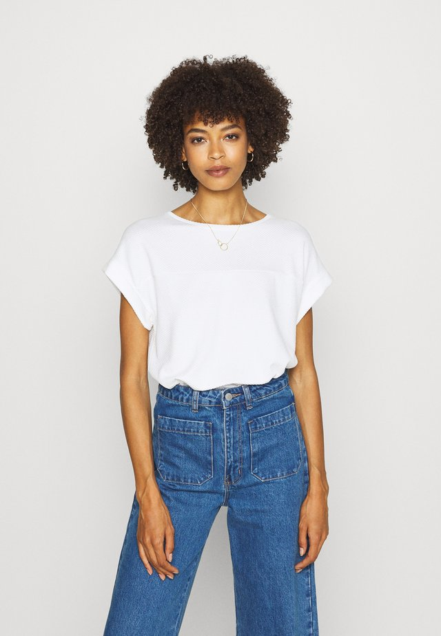 KAY - T-shirt basic - milk