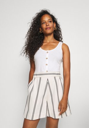 WITH PLACKET - Topper - off white