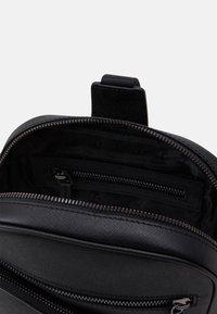 KARL LAGERFELD - CROSSBODY BAG UNISEX - Across body bag - black - 3