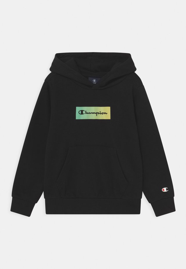 AMERICAN PASTELS HOODED UNISEX - Sweat à capuche - black