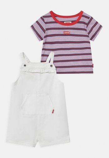 SET - Print T-shirt - white