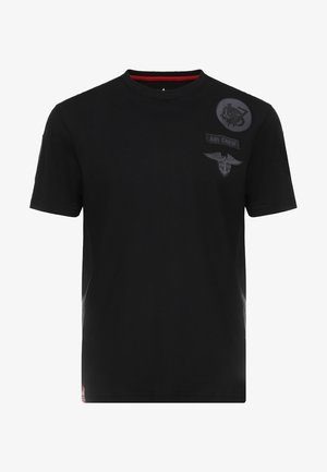 AIR CREW - T-shirts print - black