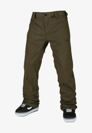 Snow pants - black military