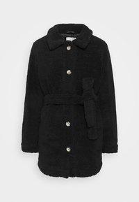 JDY - JDYSTELLA BELT JACKET - Klasický kabát - black - 5