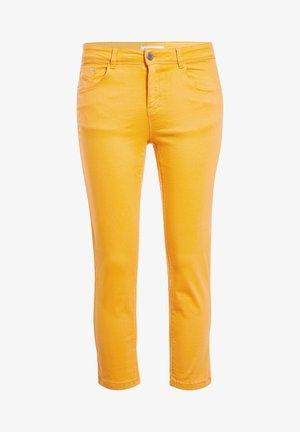 SCHLANKE EINFARBIGE BASIC-HOSE - Pantaloni - orange clair