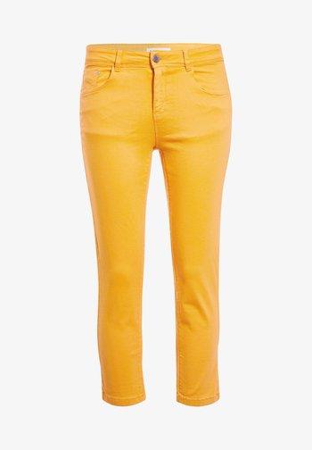 SCHLANKE EINFARBIGE BASIC-HOSE - Trousers - orange clair