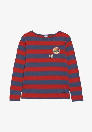 BLOCKCOLOUR - Long sleeved top - braise/navire