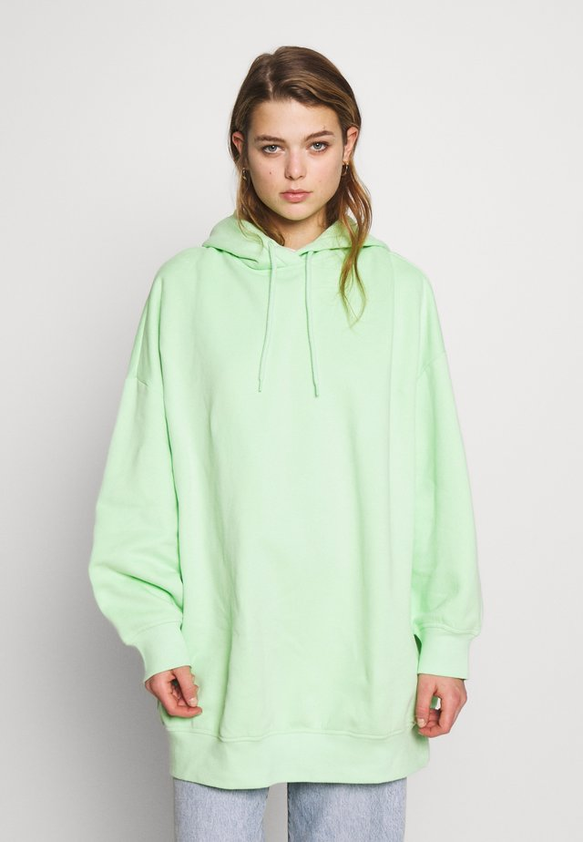 BAE HOODIE UNIQUE - Bluza z kapturem - green bright