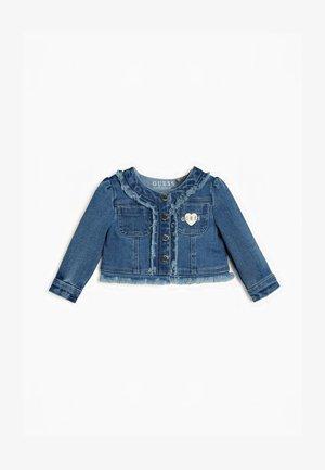 GUESS JEANSJACKE - Denim jacket - blau