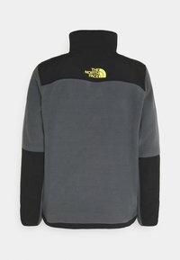 The North Face - STEEP TECH HALF UNISEX - Fleece jumper - vanadis grey/ black/lightning yellow - 1