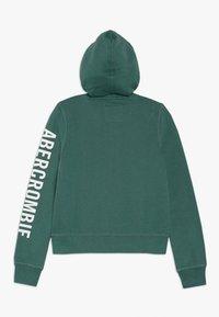Abercrombie & Fitch - Sweatjacke - green - 1