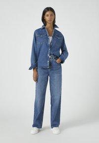 PULL&BEAR - Jeans straight leg - blue - 1