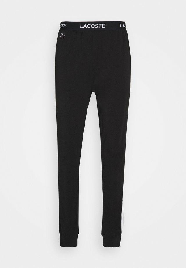 Bas de pyjama - black/white
