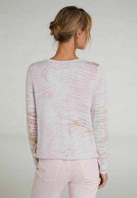 Oui - Sweatshirt - rose white - 2