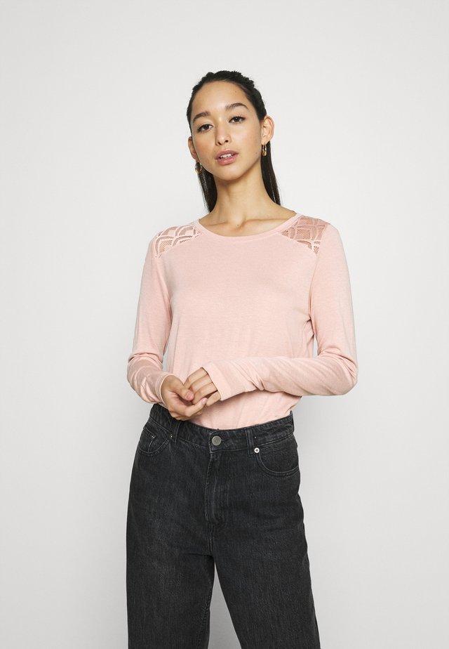 ONLNICOLE LIFE NEW MIX  - T-shirt à manches longues - misty rose