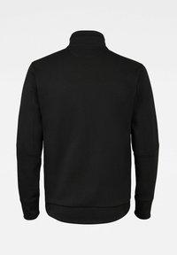 G-Star - MOTO TRACK - Zip-up hoodie - dk black - 1