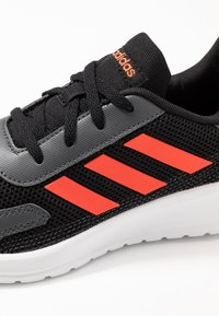 adidas Performance - TENSAUR RUN - Neutral running shoes - core black/solar red/grey six - 2