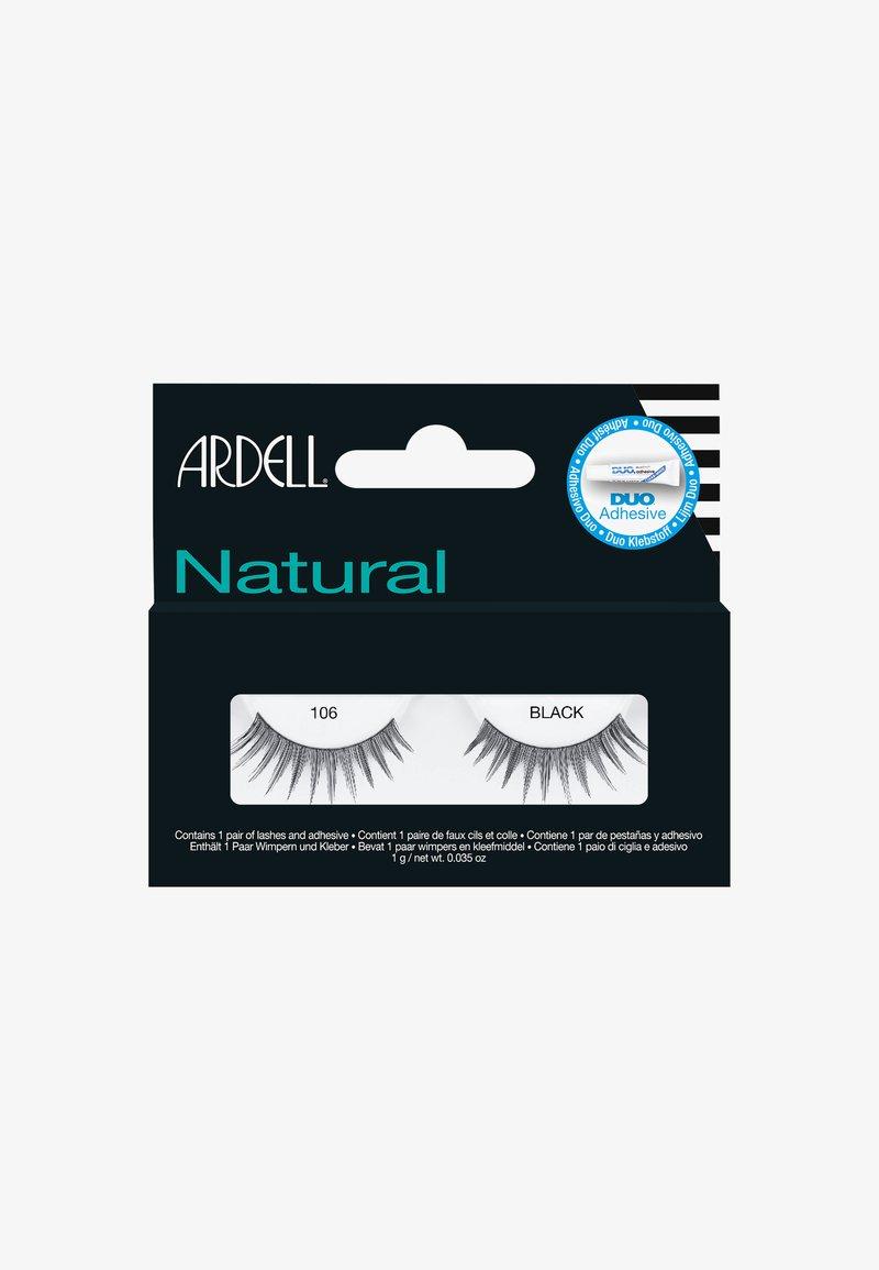 Ardell - 106 BLACK - False eyelashes - -