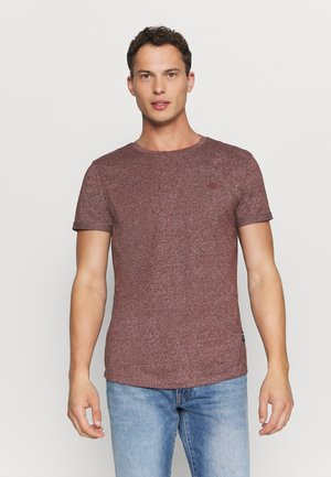 Basic T-shirt - decadent bordeaux