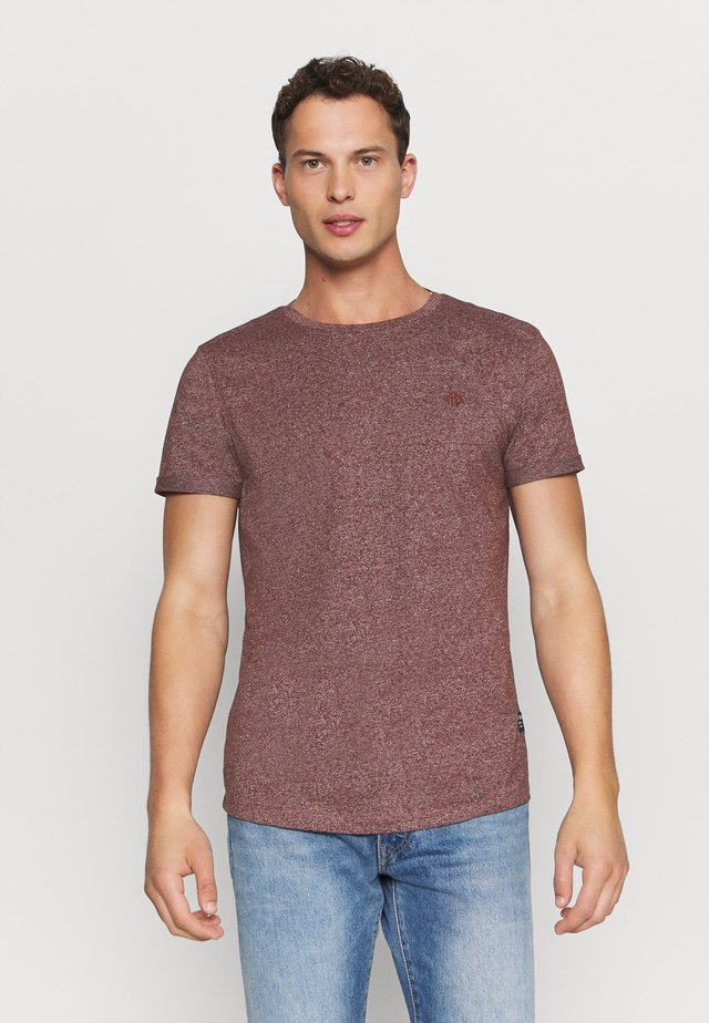 T-Shirt basic - decadent bordeaux