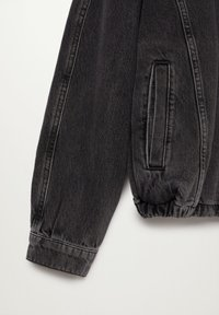 Mango - LUNA - Jeansjacke - black denim - 6