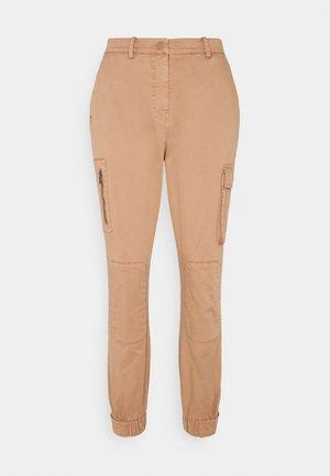MIRIAMKB PANTS - Trousers - tabacco brown