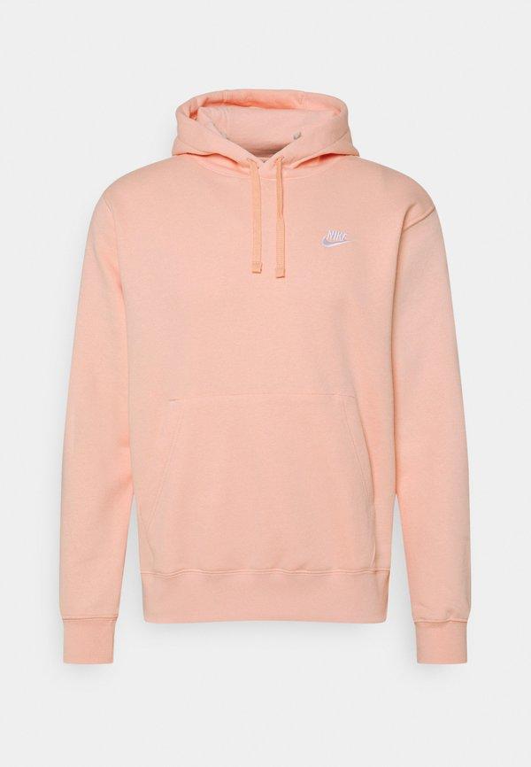 Nike Sportswear CLUB HOODIE - Bluza - arctic orange/pomarańczowy Odzież Męska WUFD