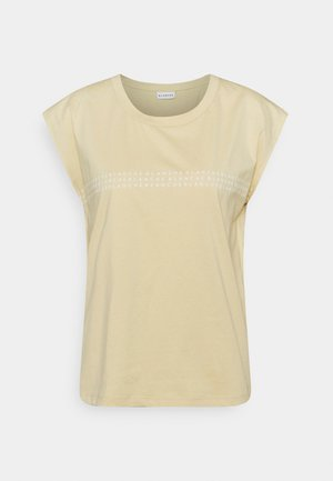 MAIN LIGHT  - Print T-shirt - marzipan