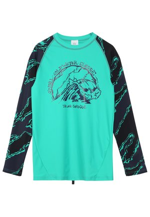 WAVE - Rash vest - salina green