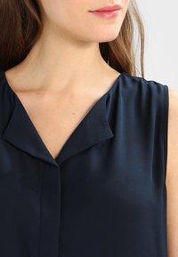 Vila - VILUCY TOP  - Button-down blouse - total eclipse - 3