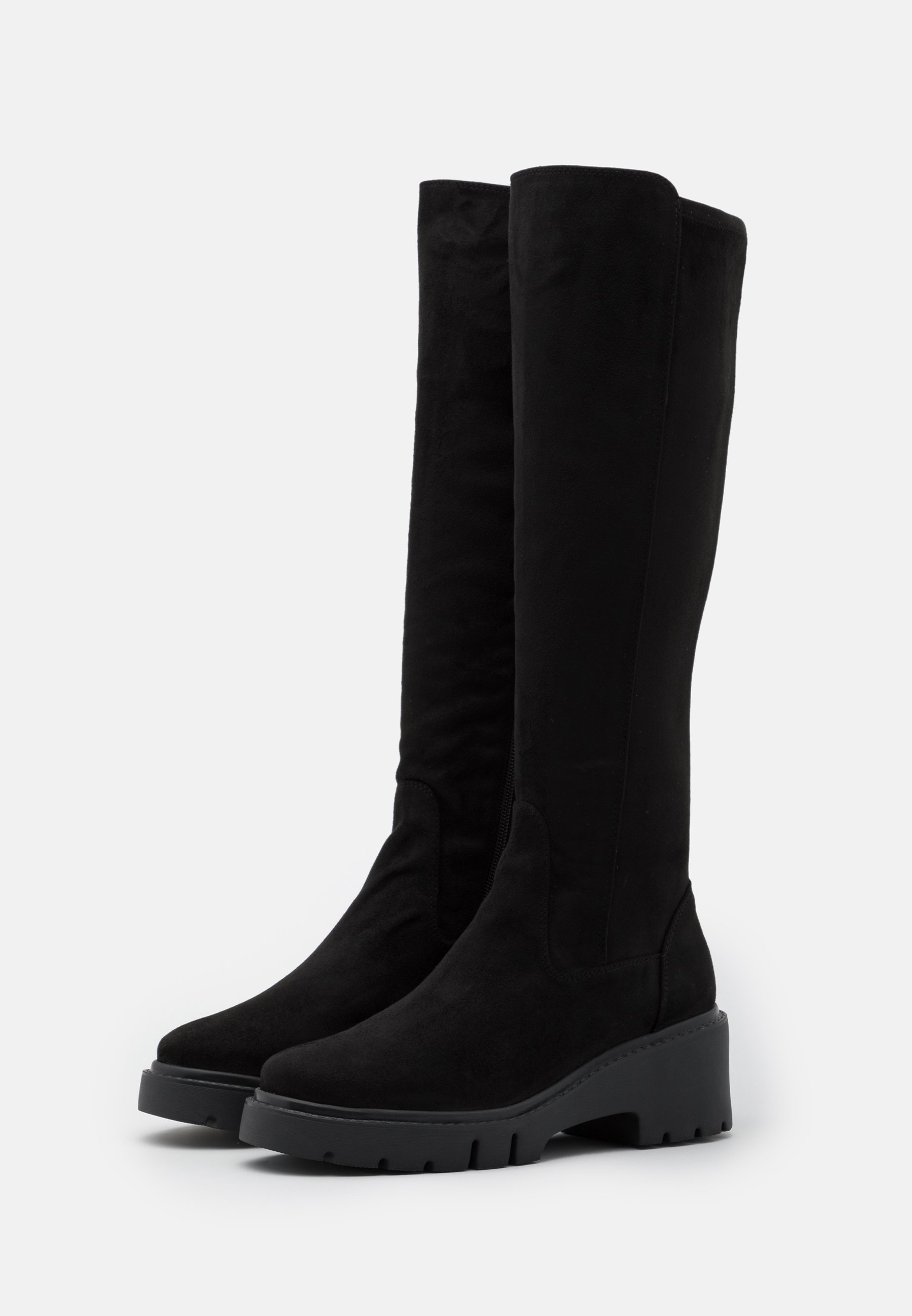 Unisa Jeliza - Platåstøvler Black/svart
