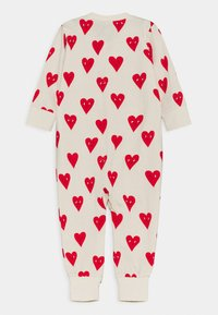 Lindex - HEART UNISEX - Pyjamas - beige - 1