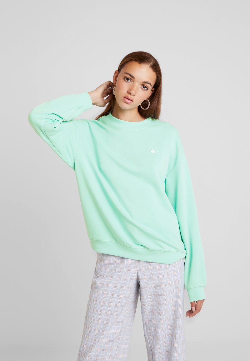Monki - Sweatshirt - green light
