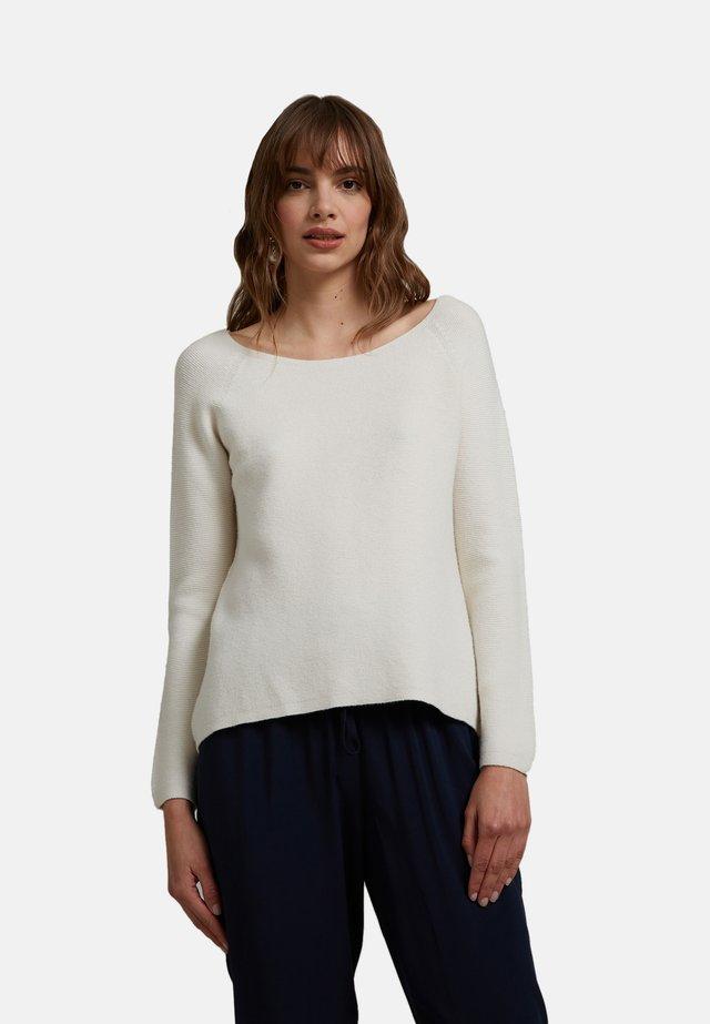 Jersey de punto - bianco