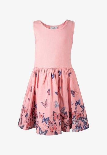 Day dress - flamingo