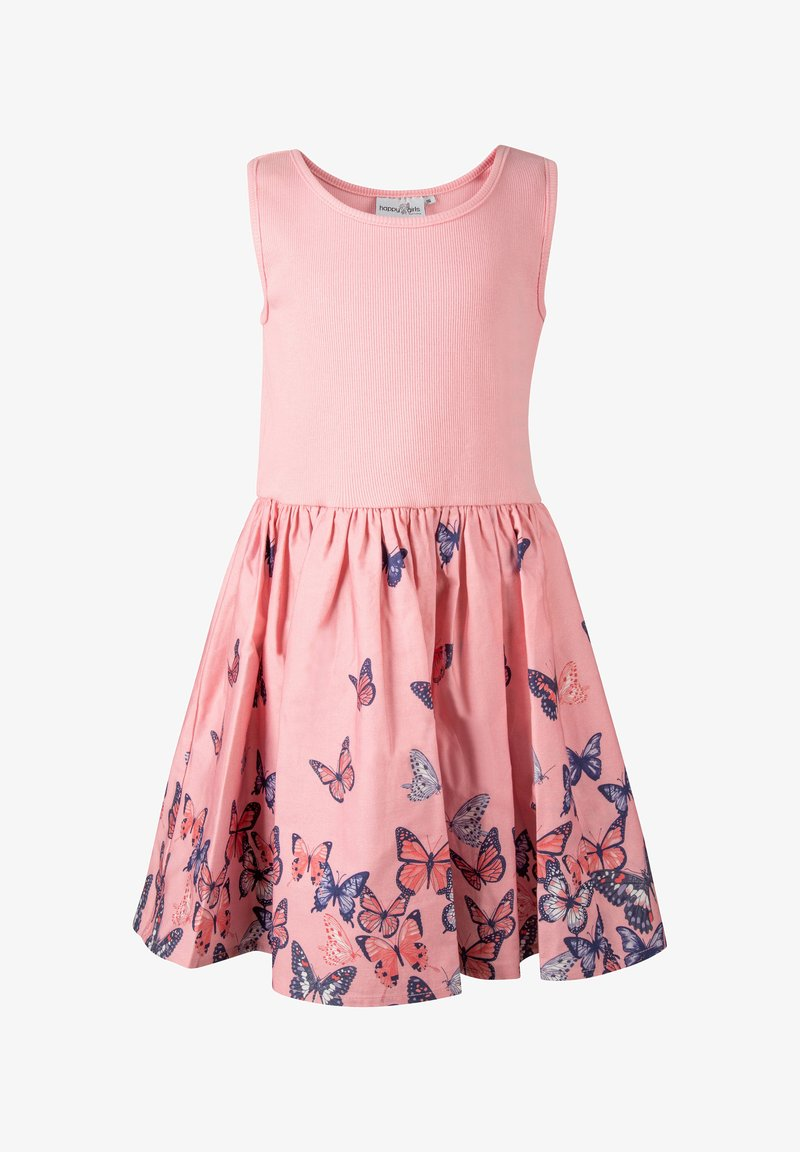 happy girls - Day dress - flamingo