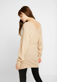 Even&Odd - Jumper dress - beige - 2