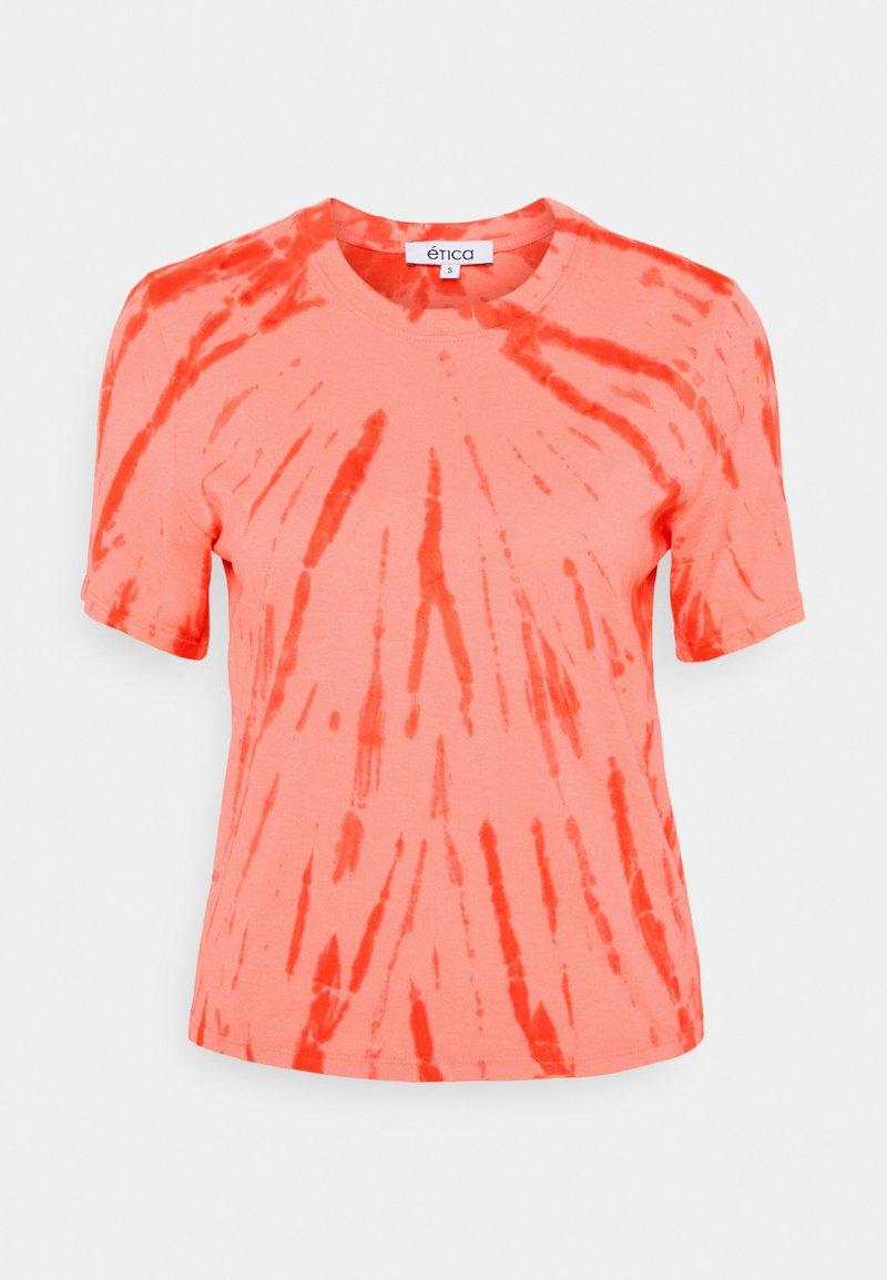 Ética - EVIE - Print T-shirt - coral
