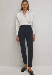 Massimo Dutti - Trousers - blue-black denim - 3
