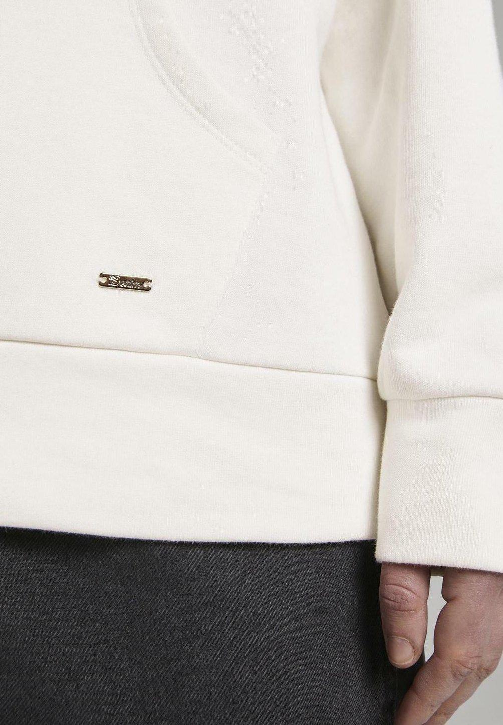 Tom Tailor Denim Mit Kapuzen - Hoodie Off White