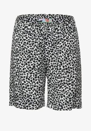 LOOSE FIT SHORTS MIT PRINT - Shorts - grau