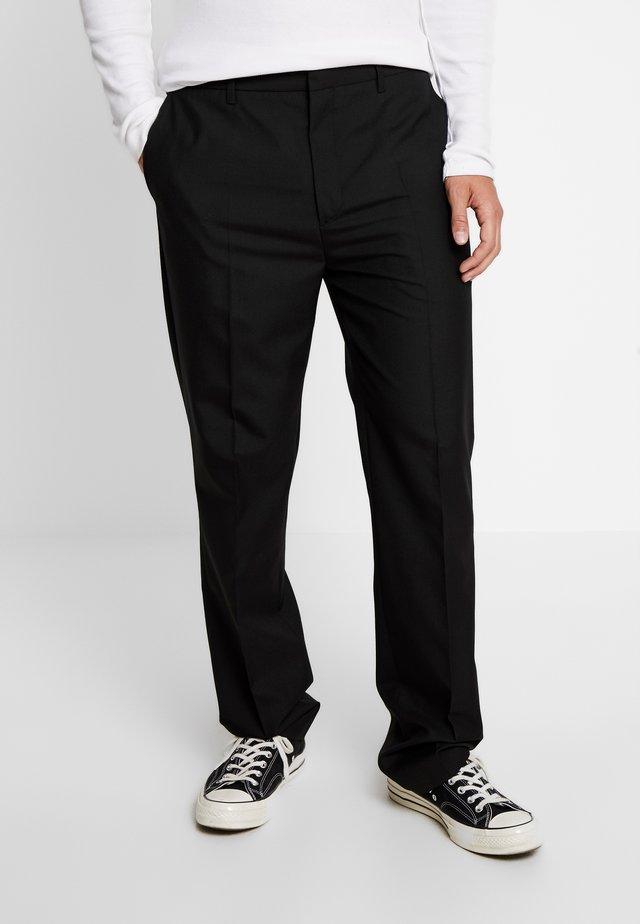 SHOT TROUSER - Pantalon classique - black suit