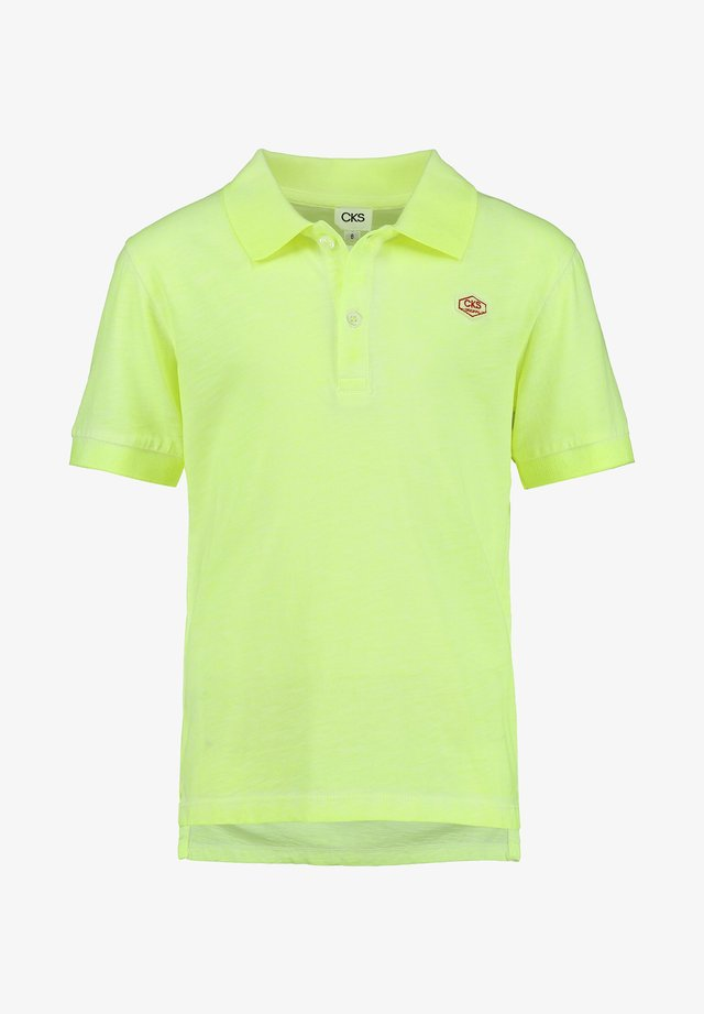 YENLY - Polo shirt - bio lime