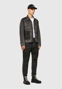 Diesel - Giacca di jeans - black - 1