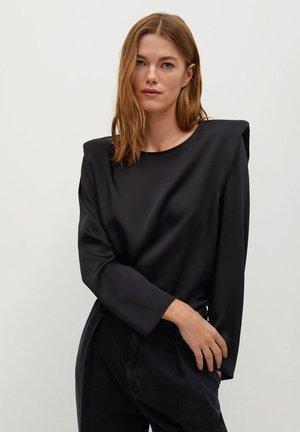 PADY - Long sleeved top - zwart