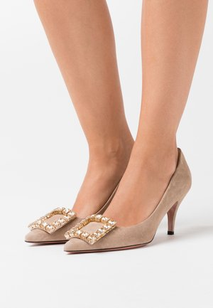 SAMONA - Pumps - almond