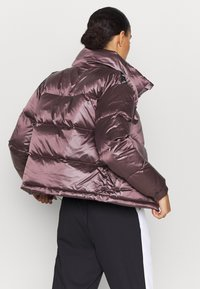 Puma - SHINE JACKET - Down jacket - foxglove