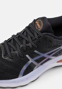 ASICS - GEL NIMBUS 23 - Zapatillas de running neutras - black/carrier grey - 5