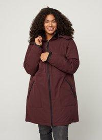 Zizzi - Down coat - dark bordeaux - 0