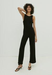 EDITED - Jumpsuit - schwarz - 1